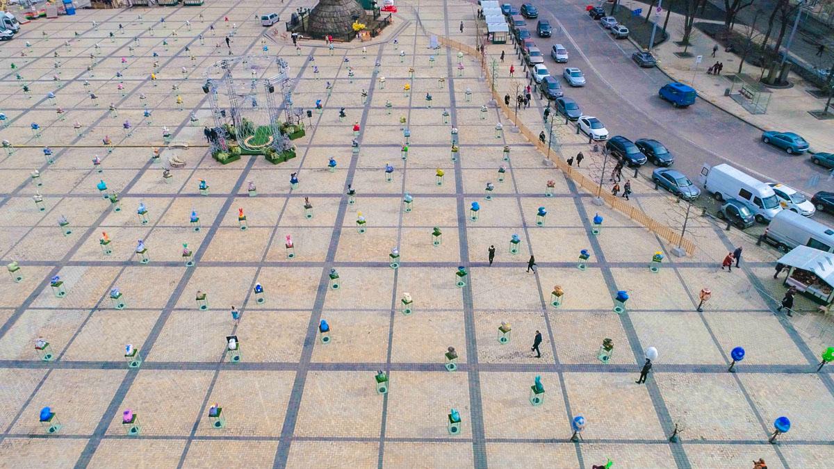 5 апреля в центре столицы стартовала самая масштабная пасхальная выставка года