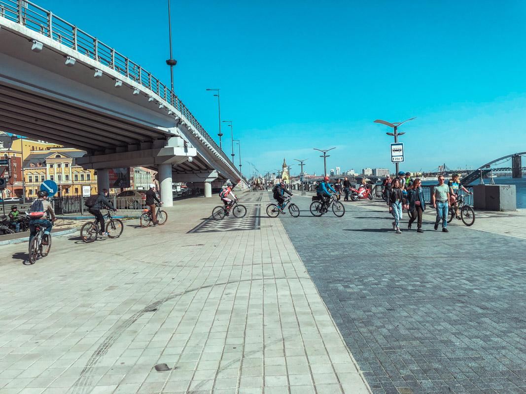 В 2017 году в Киеве погибли девять велосипедистов в ДТП