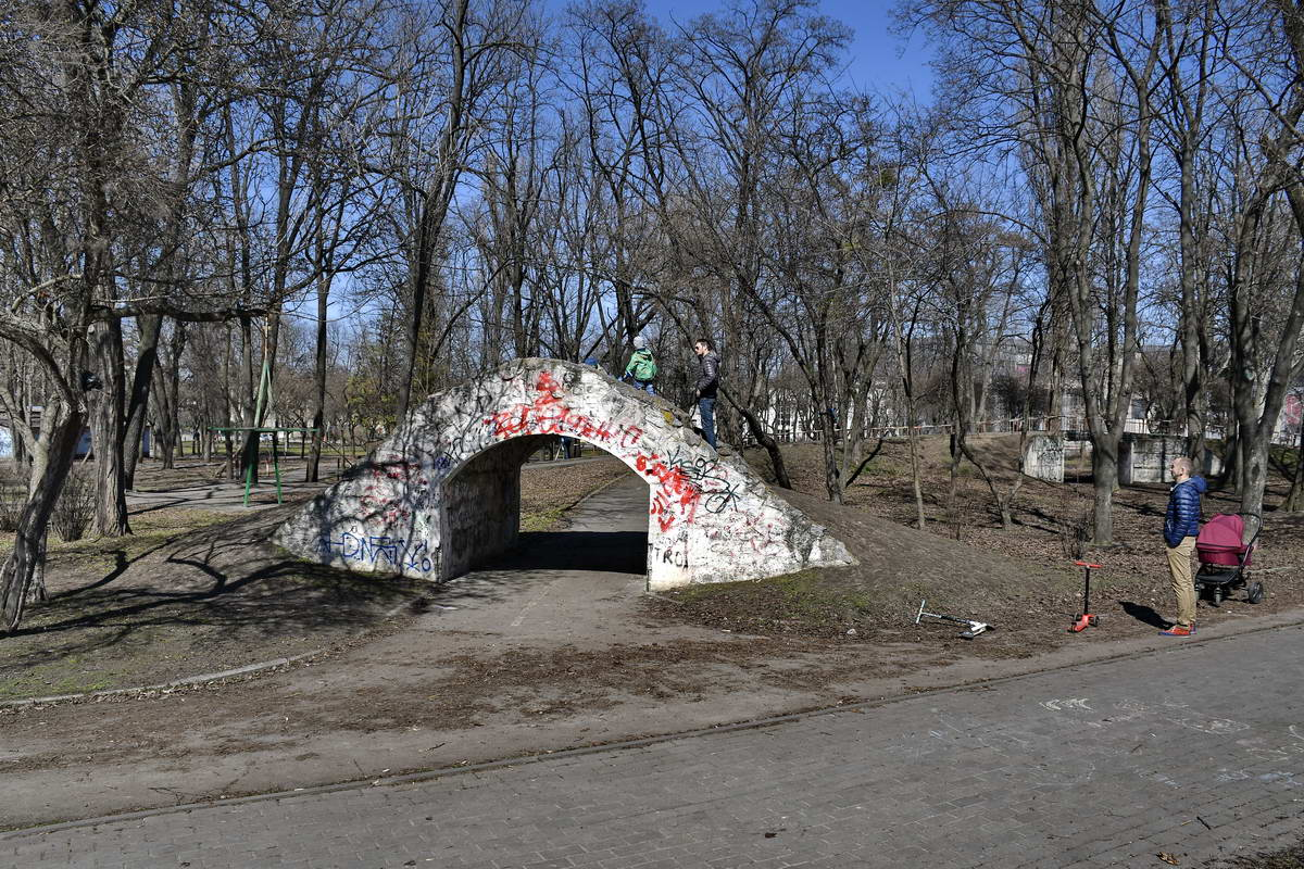 После ремонта Куреневский парк станет более современным