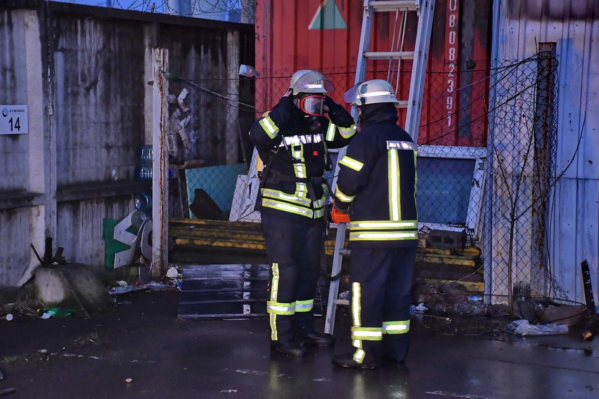 Предварительно, в результате пожара никто не пострадал