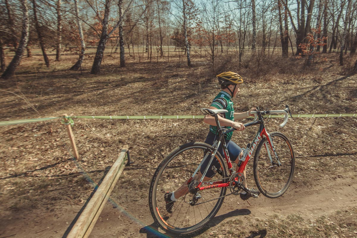 В столице состоялся ІІ этап Кубка Киева по велокроссу
