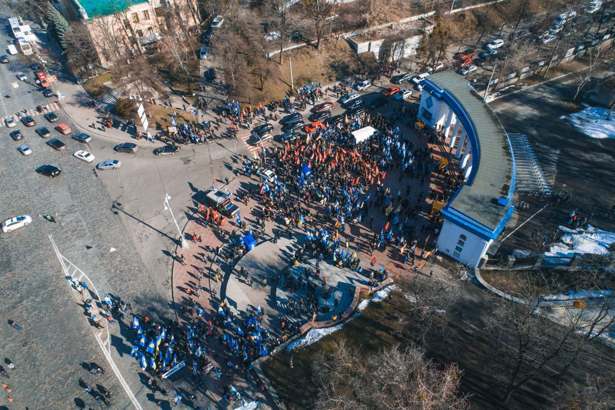 """Собираться пикетчики начали возле стадиона """"Динамо"""""""