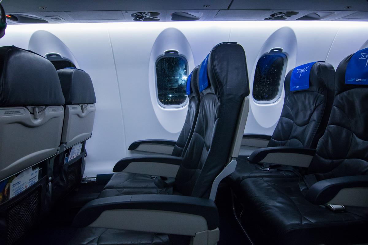Комфортные кресла пассажиров