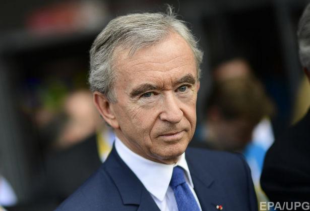 Состояние француза Бернара Арно превышает 70 миллиардов долларов