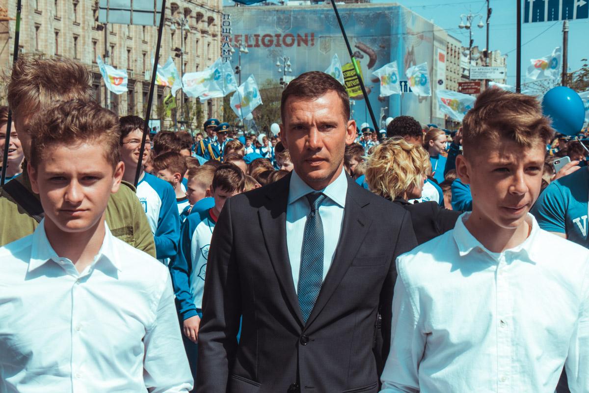 Андрей Шевченко - амбассадор финалов Лиги Чемпионов УЕФА