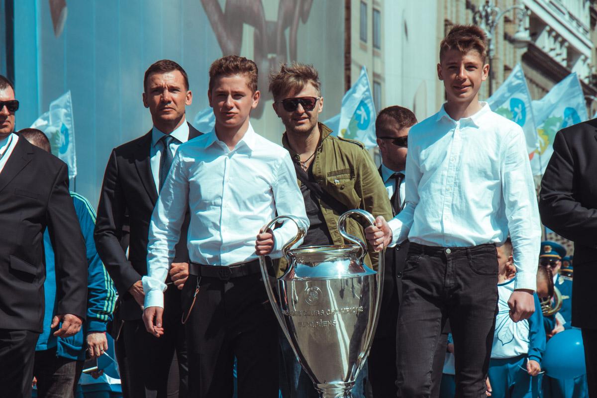 Заветный Кубок Лиги Чемпионов