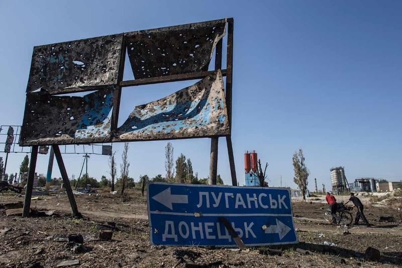 НаДонбассе после обстрелов умер  один украинский военный