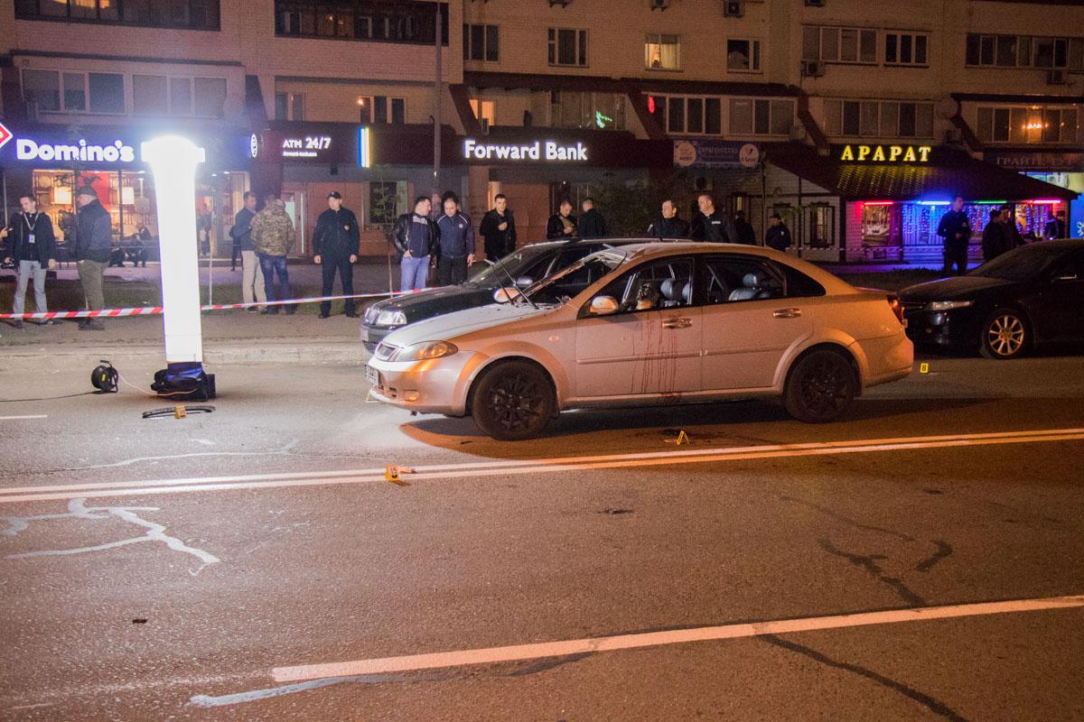 По словам очевидцев, взрыв прогремел в самом автомобиле