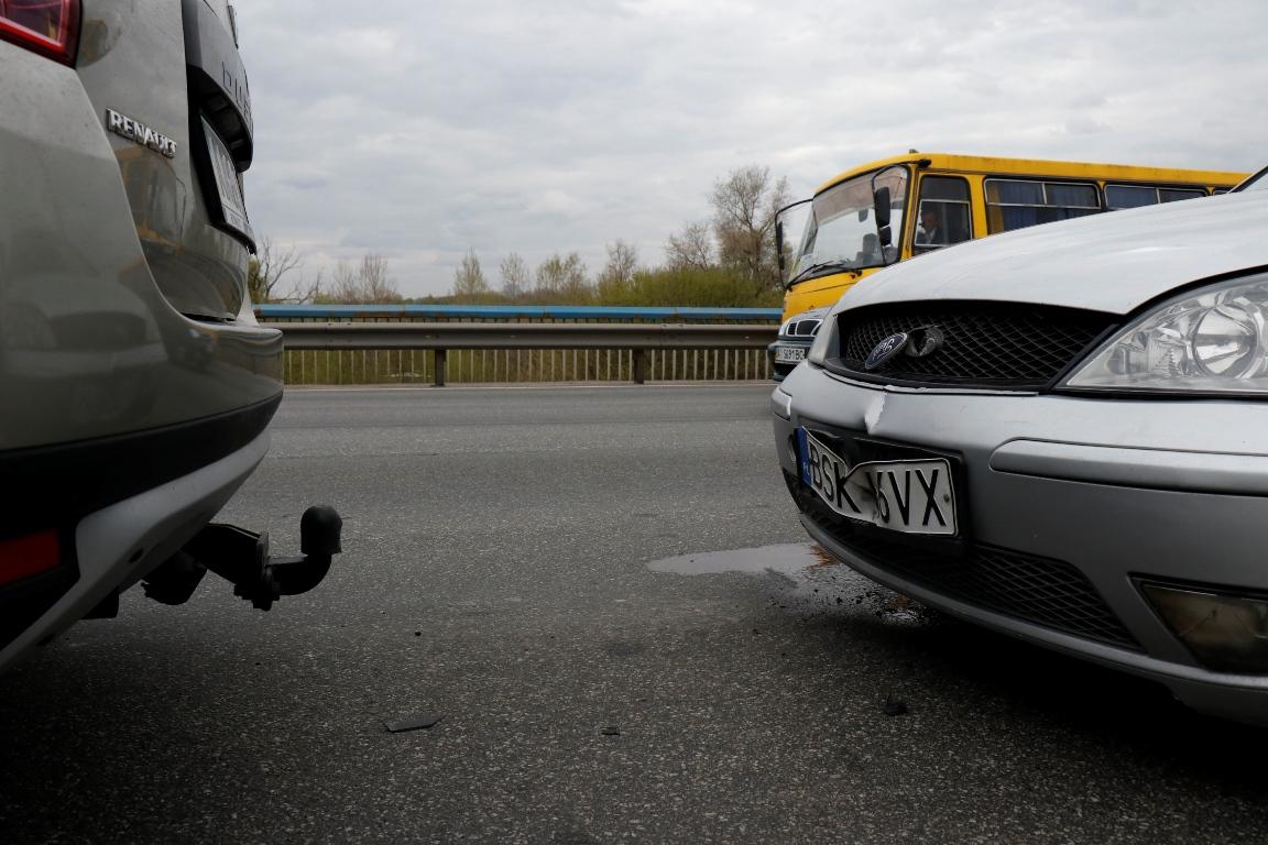 """""""Евробляха"""" влетела в Renault"""