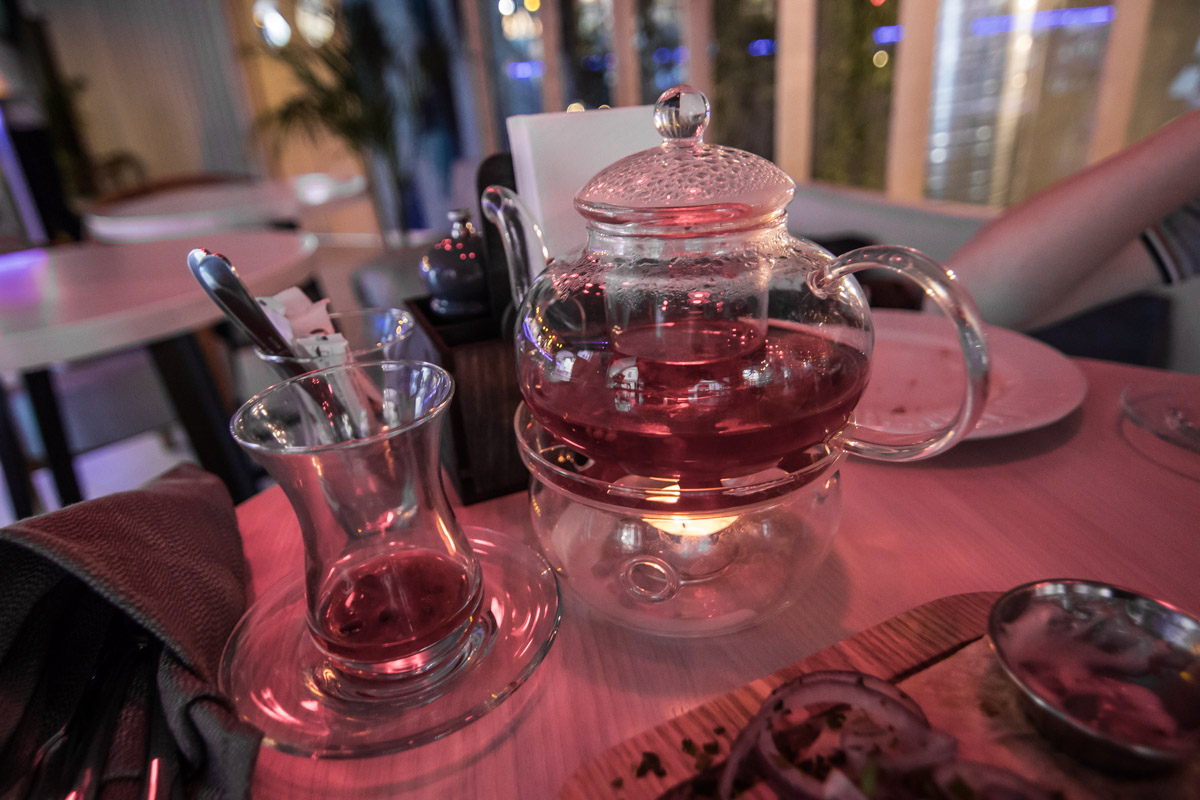 Изумительный малиново-гранатовый чай