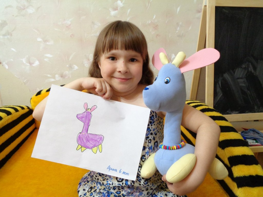 Ваш ребенок сможет сам создать игрушку, какую пожелает
