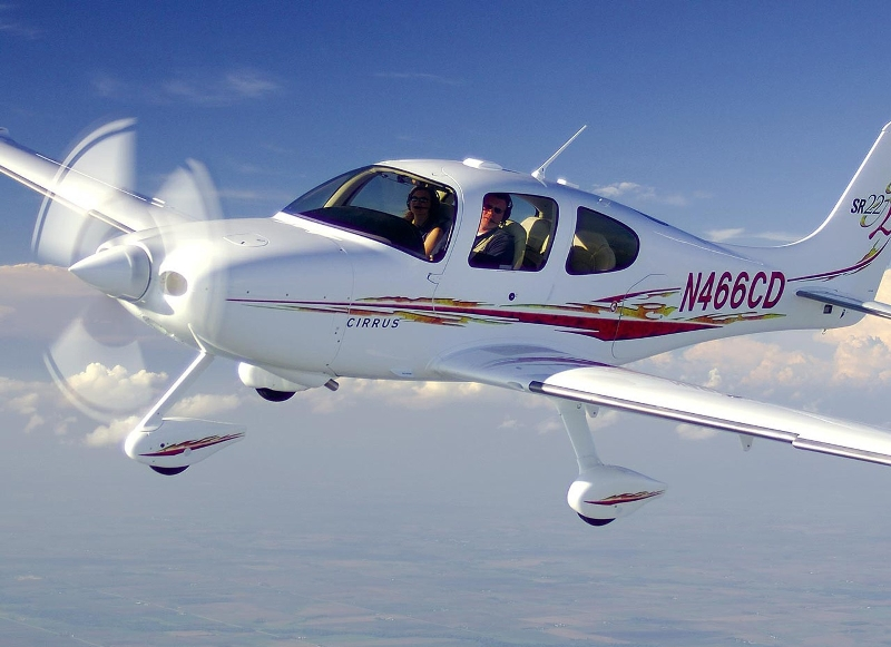 Столкнулись спортивный и малогабаритный самолеты