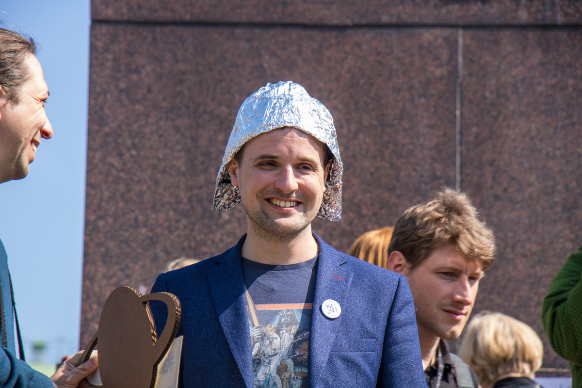 Костюмированный марш прошелот парка Шевченко до Майдана Независимости