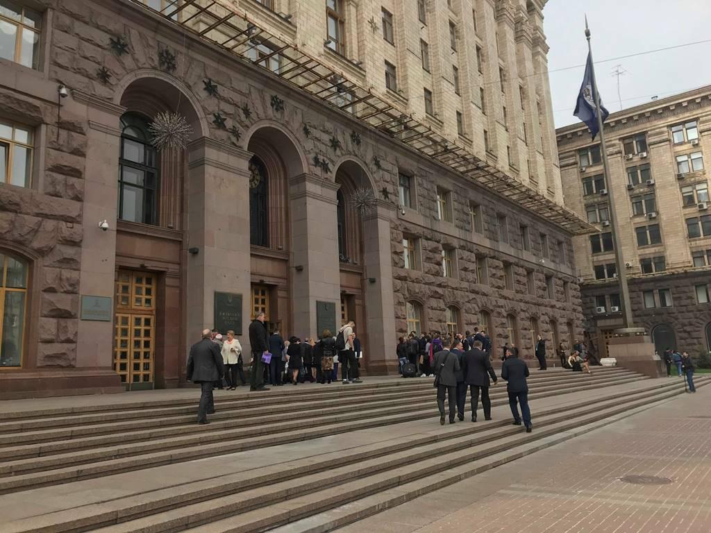 Неизвестный сообщил о заминировании столичной мэрии