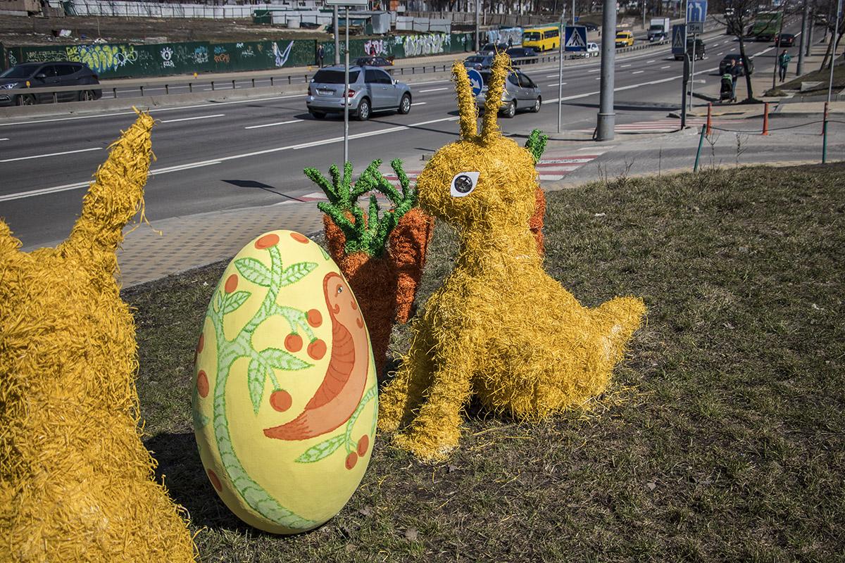 Кролики сделаны из экоматериалов