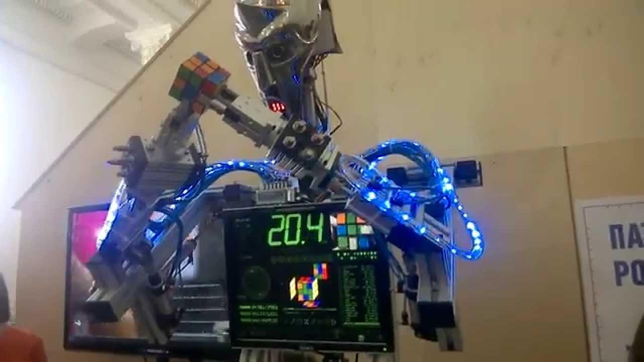 Посетить интересную выставку роботов можно с 7 по 9 апреля на ВДНХ