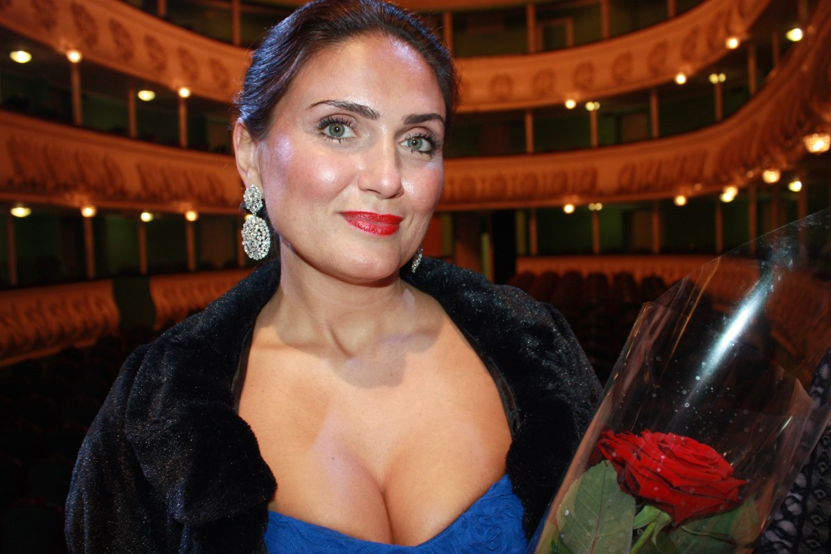 Ольги Чубарева - оперная певица