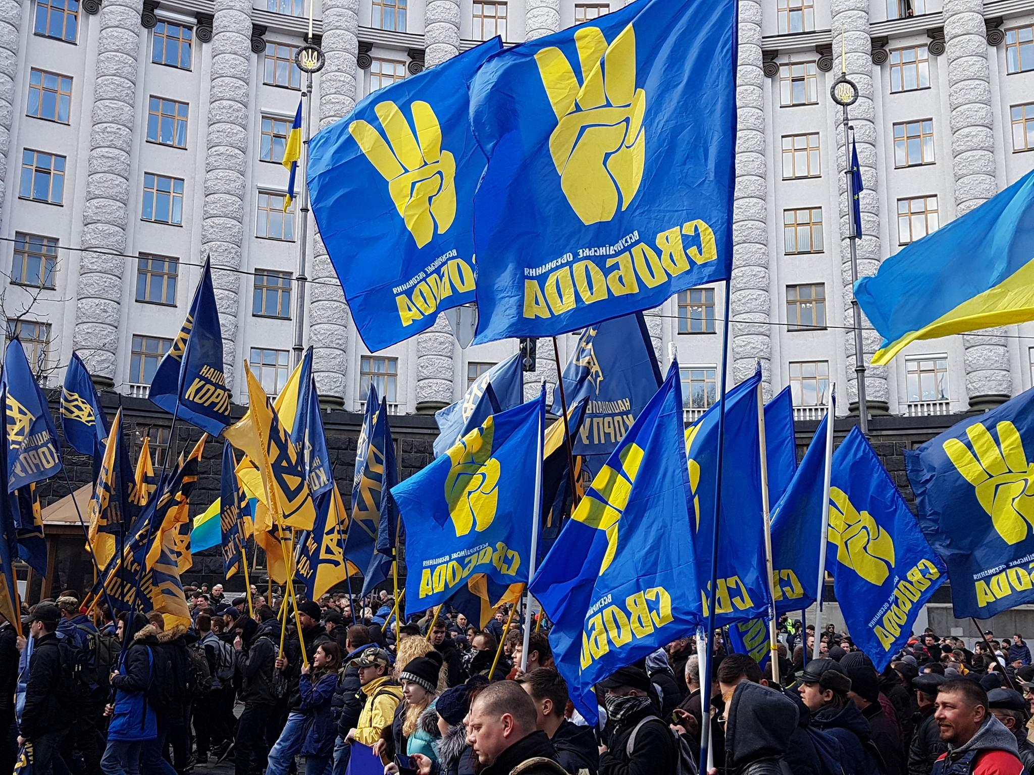 Активисты переместились к Кабмину