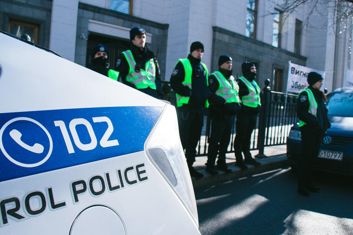 За порядком следили правоохранители