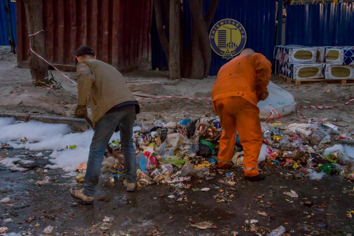 Они начали взрываться, когда отходы забирал мусоровоз