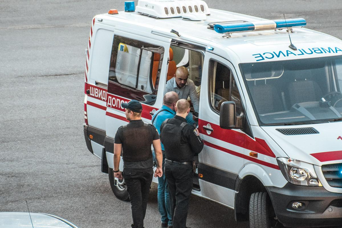 """Найема госпитализируют в больницу """"Феофания"""""""