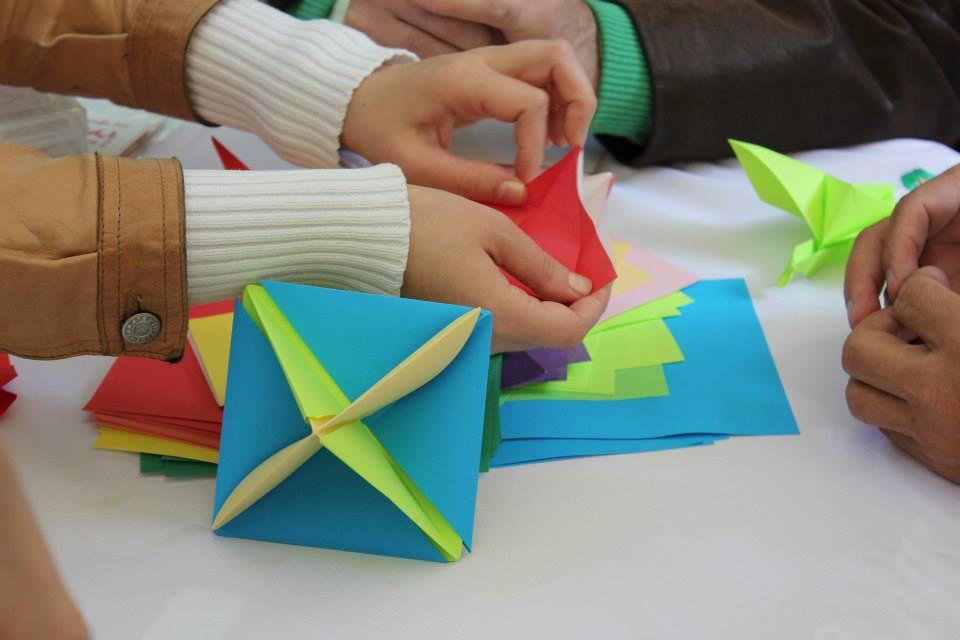Получите море позитивных эмоций на мастер-классе по оригами