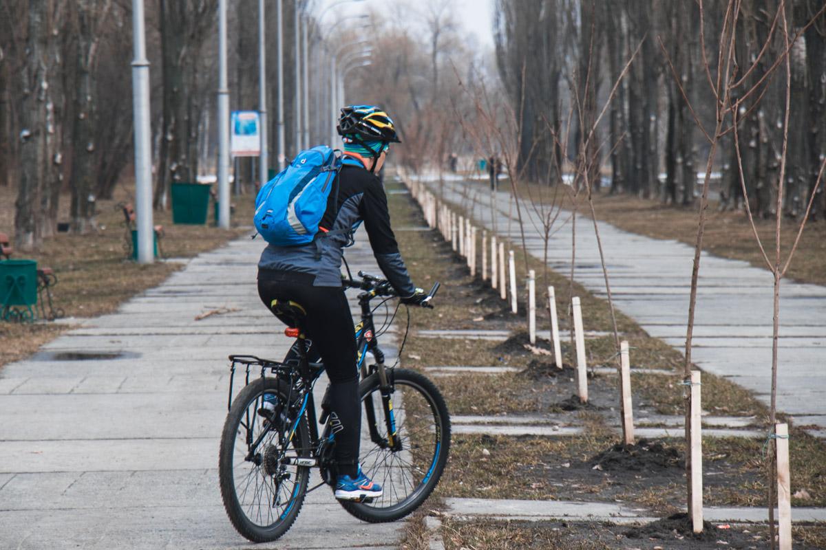 Сезон велопрогулок уже открыт, а кто-то их и не закрывал вовсе