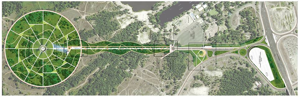 Согласно проекту на центральной аллее парка будет обустроена отделена двусторонняя велосипедная дорожка шириной 3 метра