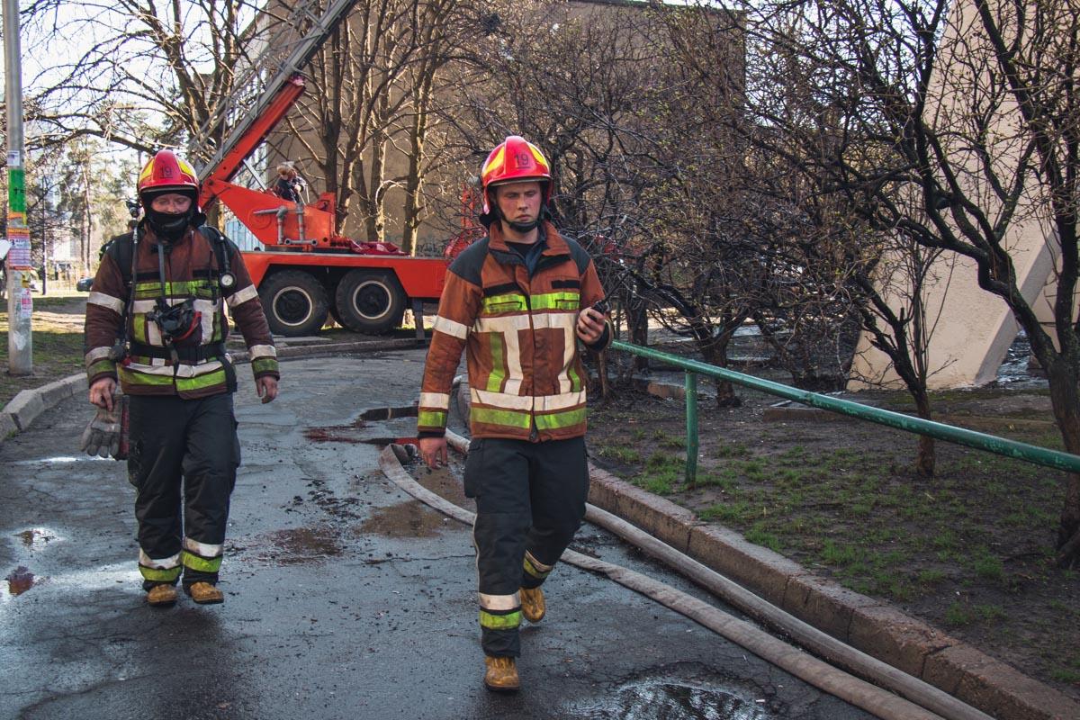 Квартира сгорела практически полностью