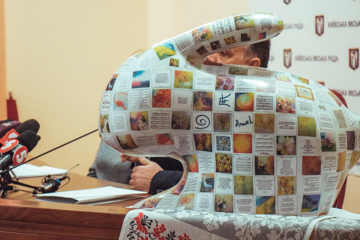 Пасхальные скульптуры распишут 500-700 украинских художников