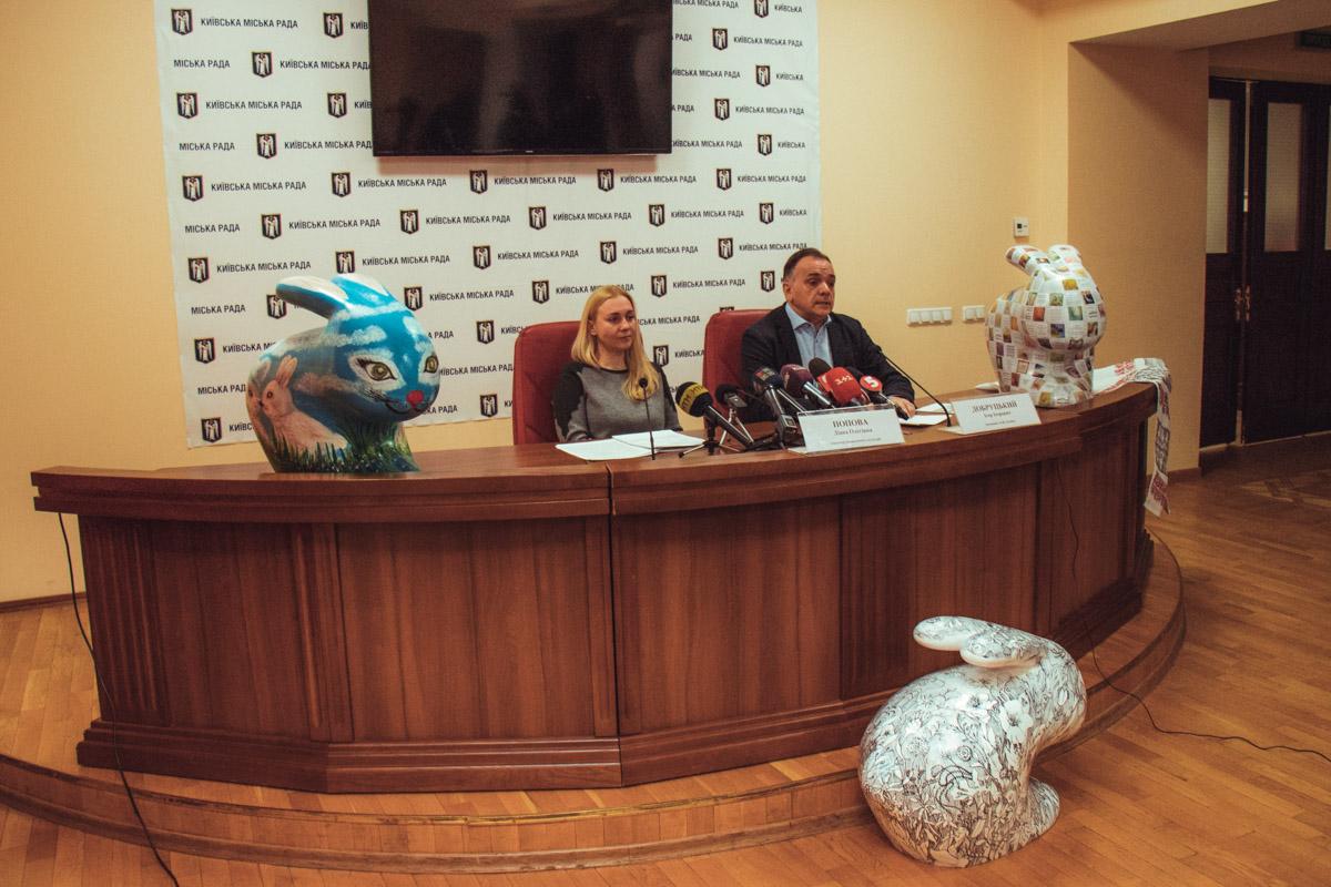 На фестивале представят скульптуры Пасхальных Кроликов и писанокм