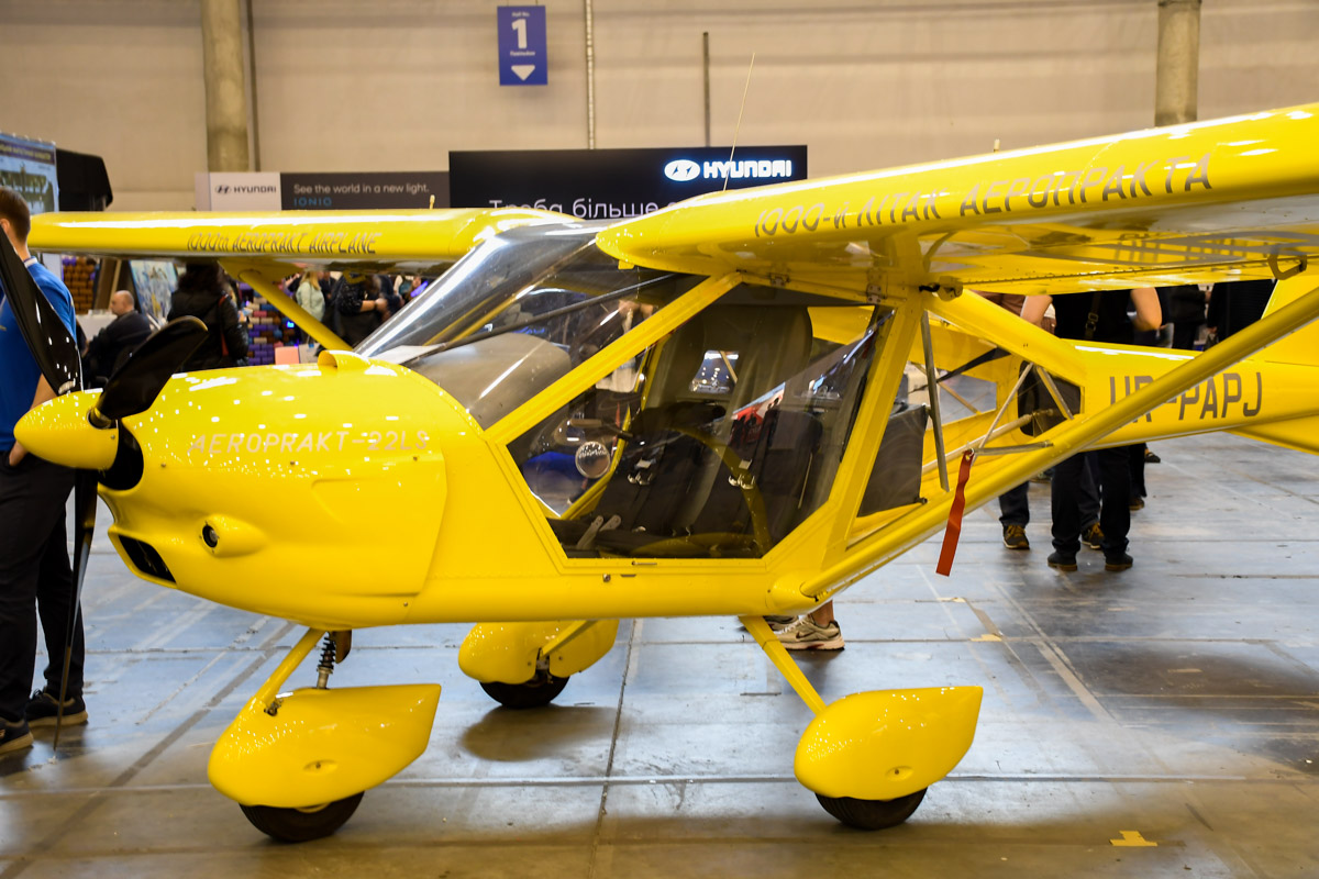Предприятие АЭРОПРАКТ - ведущий производитель легких самолетов в Украине