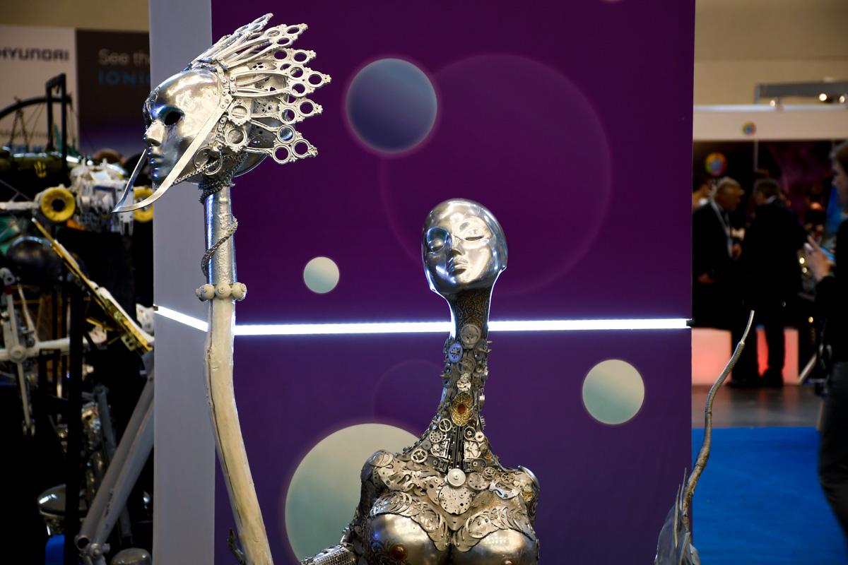 Симбиоз технологий и искусства