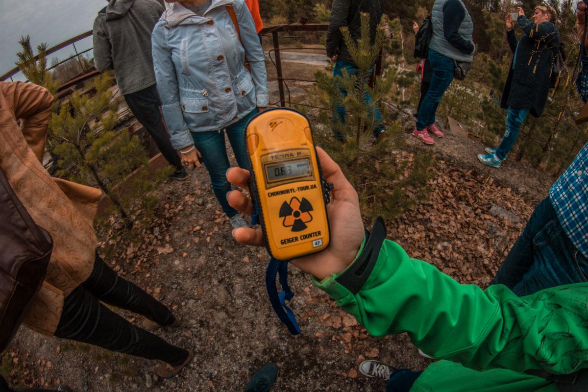 Безопасный уровень радиации по украинским нормам составляет 0,3 микрозиверта в час