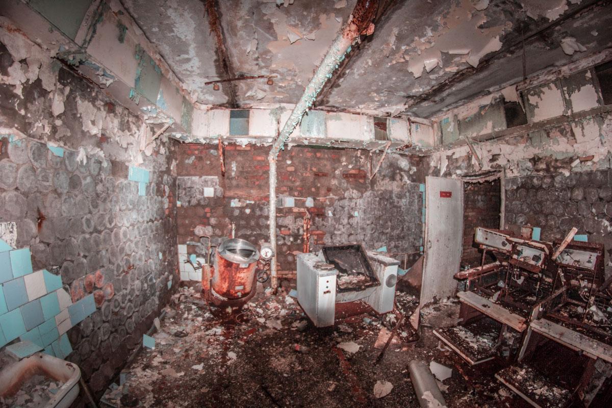 Все, что осталось от больницы