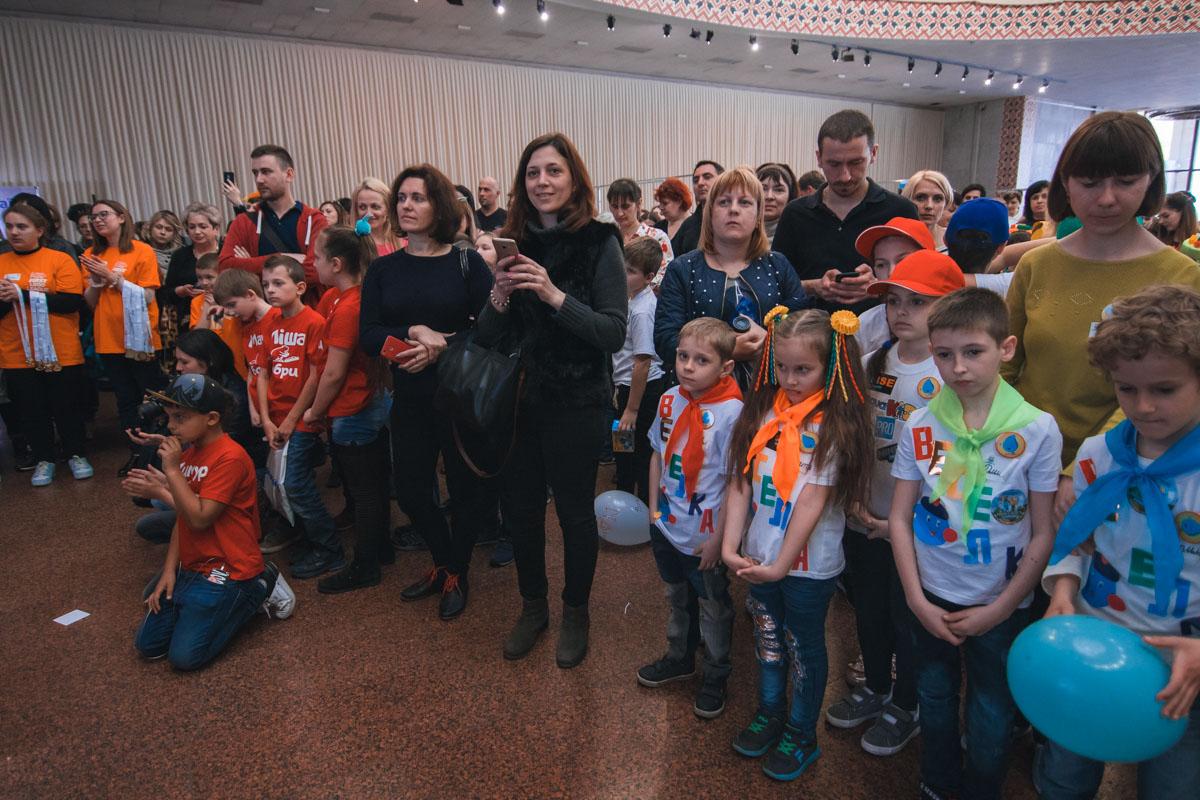 В конкурсах участвовали дети и подростки от 6 до 16 лет