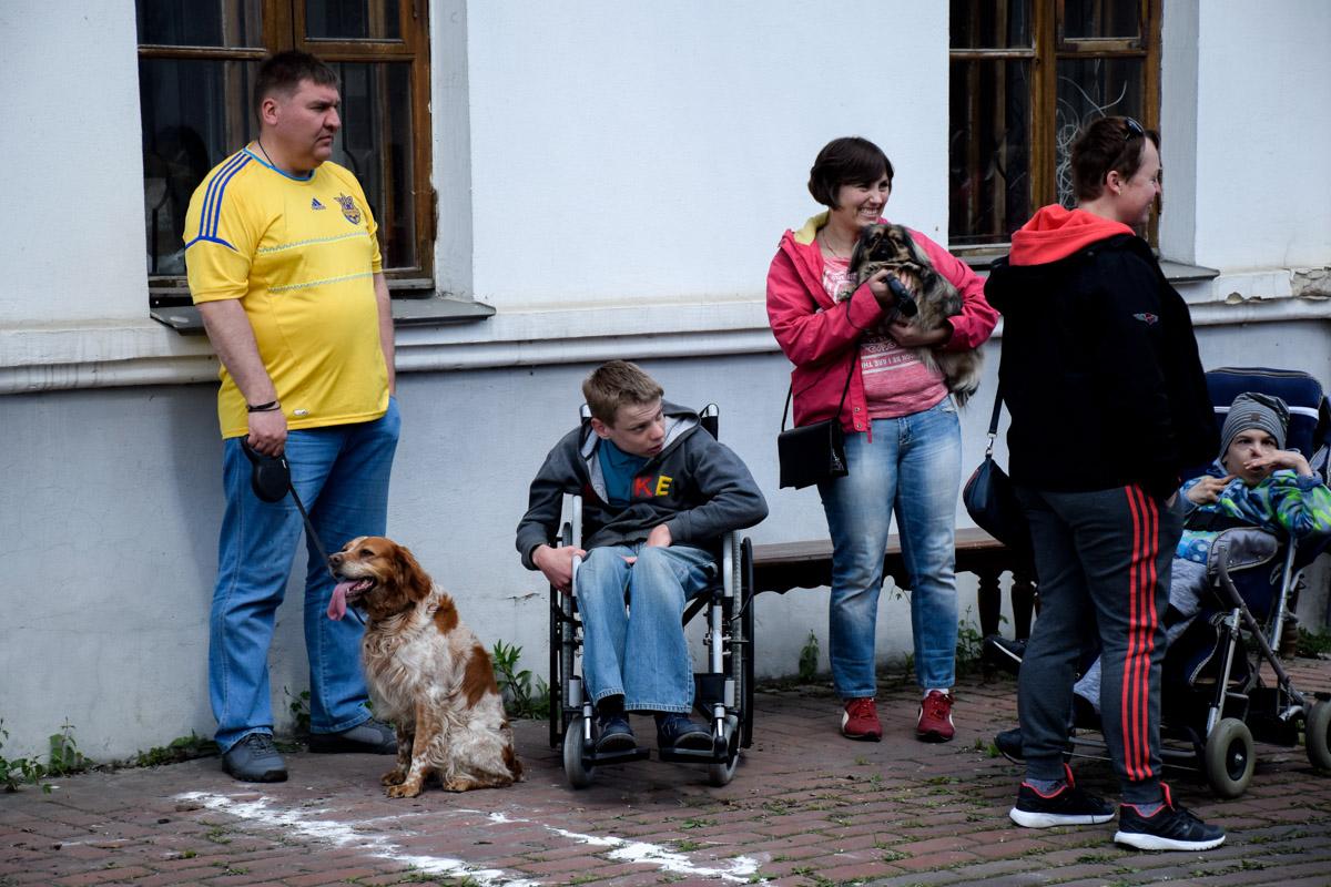 В Киеве прошли параспортивные игрыDog Puller