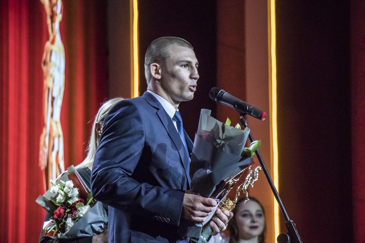 Александр Александрович Хижняк - боксер, чемпион мира 2017 в средней весовой категории