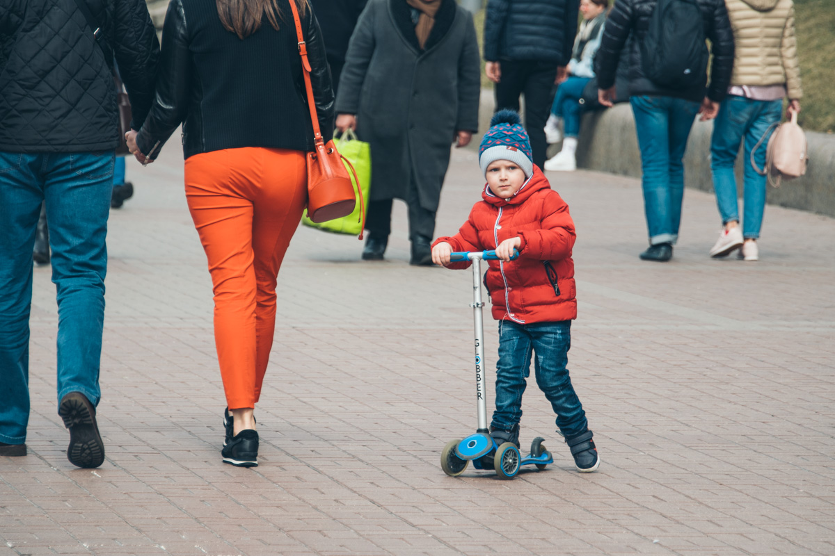 У детей свой транспорт