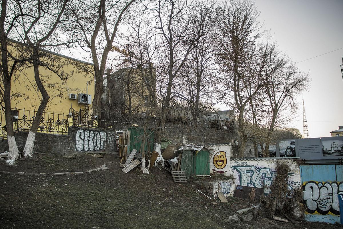 История застройки этого участка началась еще в 2005 году