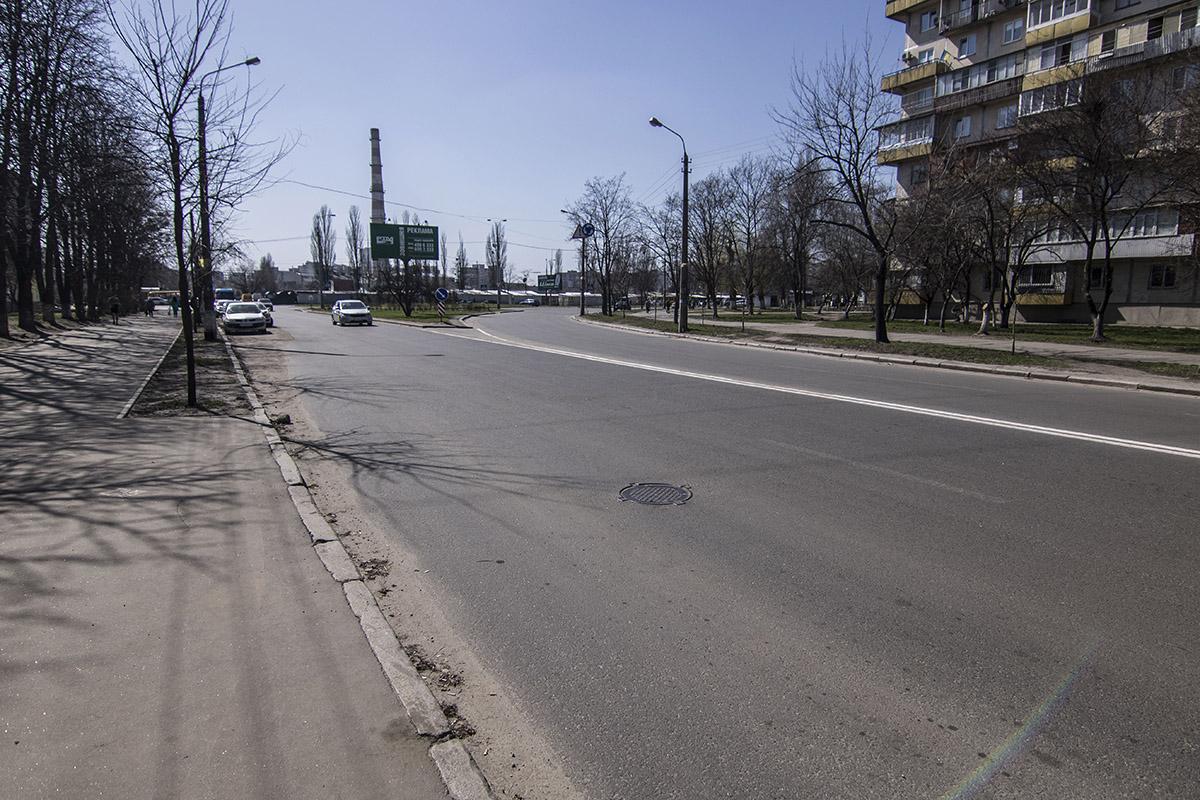 На улице Светлицкого состояние дороги вполне приемлимое