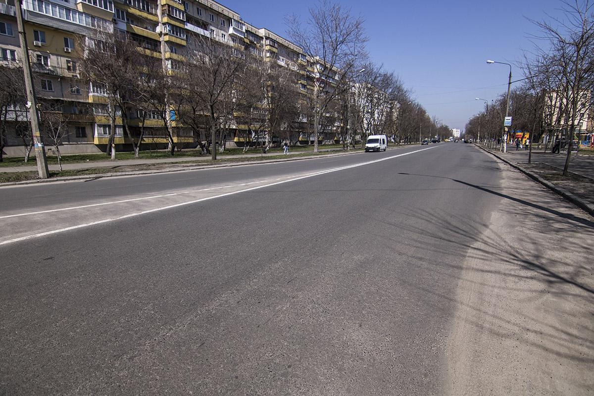 За зиму ямы на дороге не образовались
