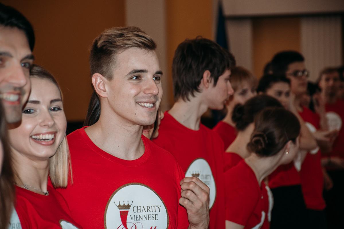 Репетиция Благотворительного Венского бала в Киеве