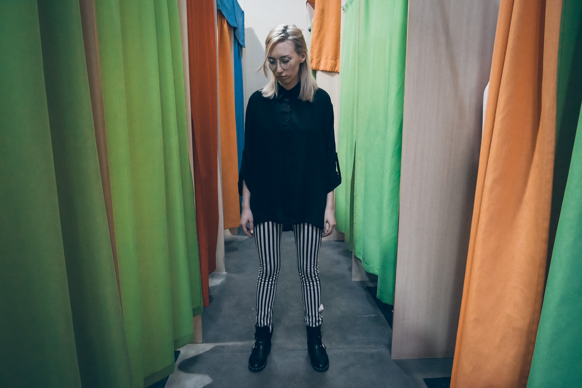 Скинни в полосочку - свежее дополнение в гардероб в апреле