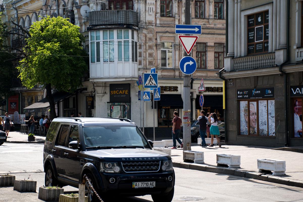 Изменено направление движения на улице Хорива