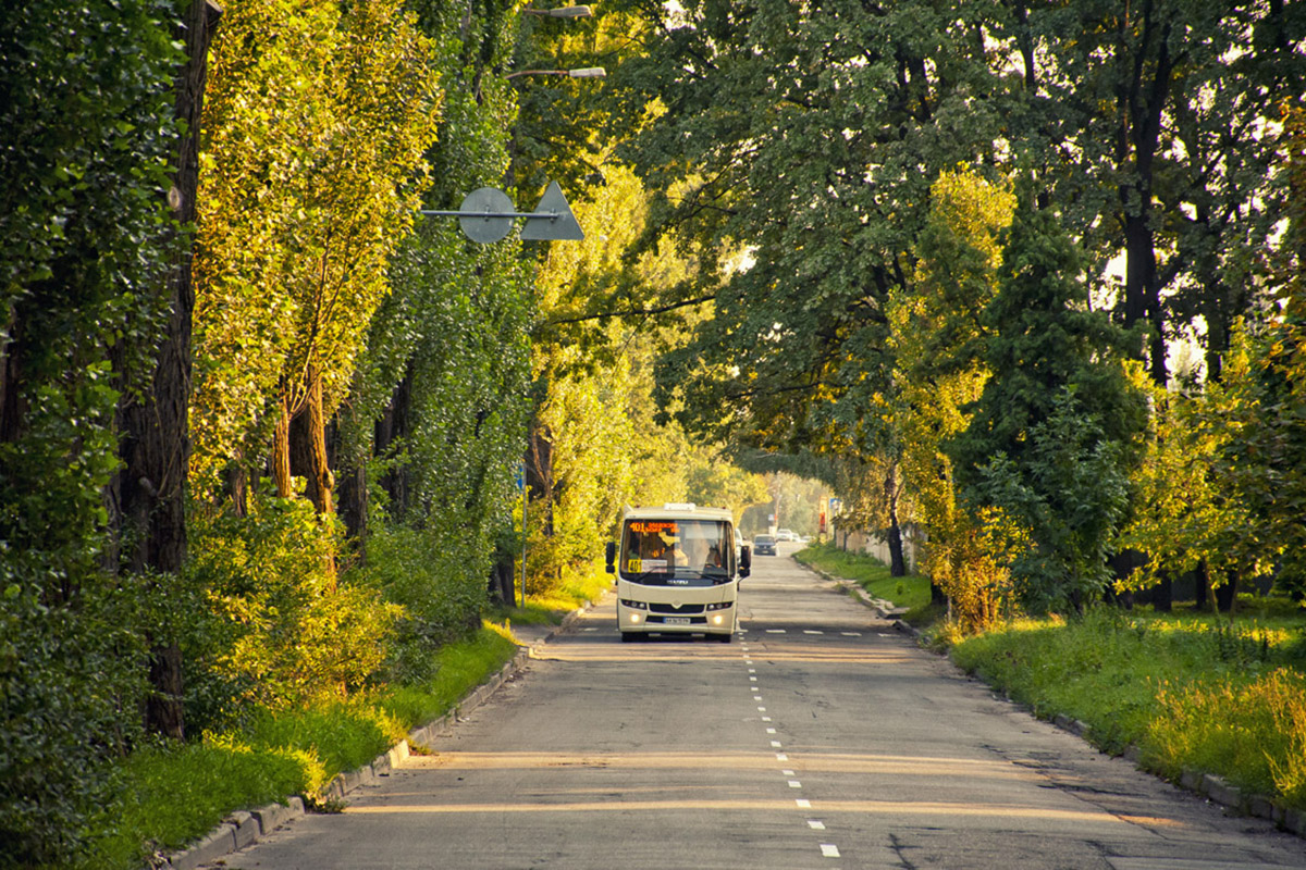Автобусы среднего класса «Ataman» А092 и А093 выпускаются на АО «Черкасский автобус»