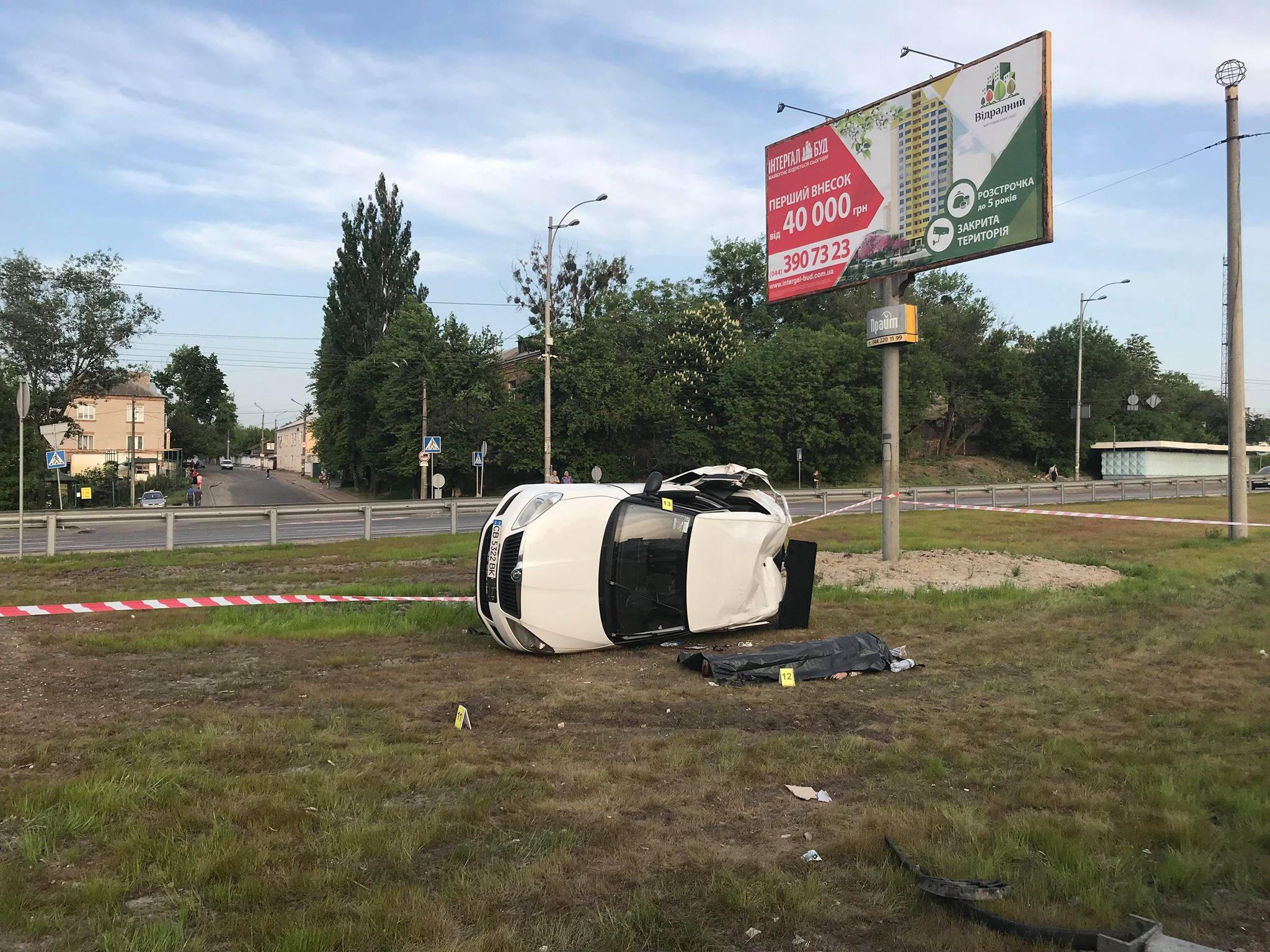 Пассажир Ubera скончался на месте