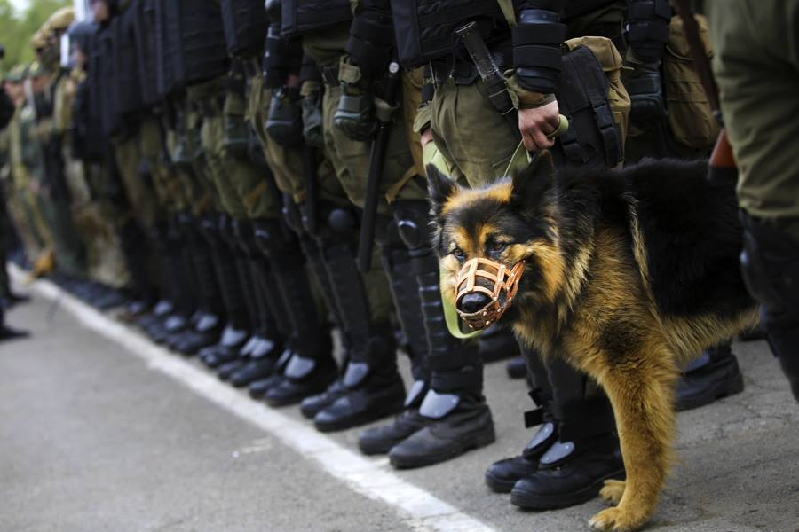 Полиция перейдет на усиленный режим работы 9 мая