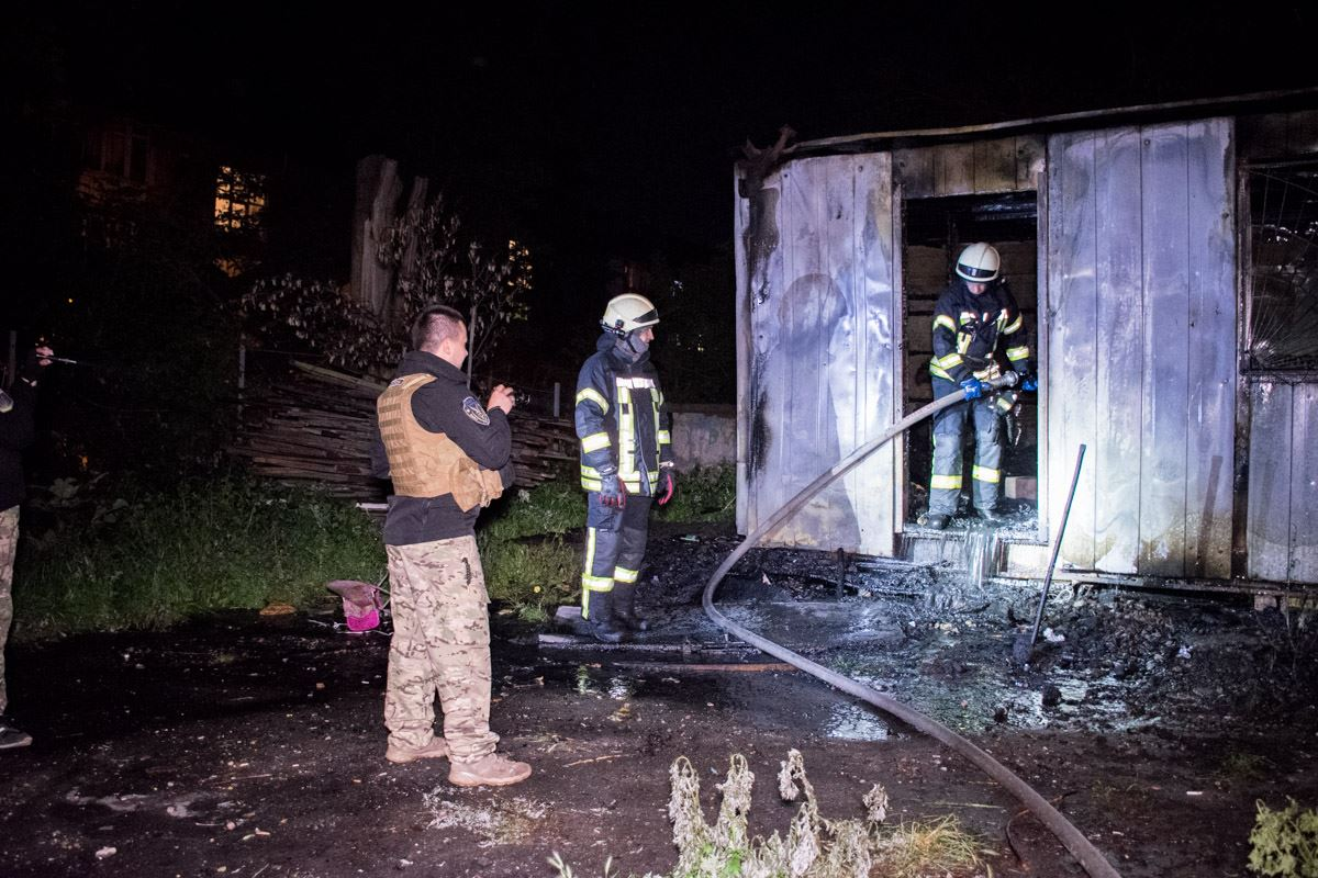 Пожарным оперативно удалось ликвидировать возгорание
