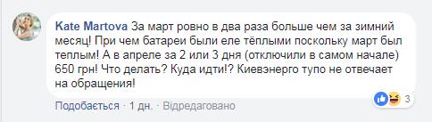 """Другие же жалуются на игнор от """"Киевэнерго"""""""